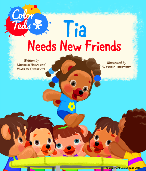 The Color Teds, Bears of Color for Diverse Young Readers