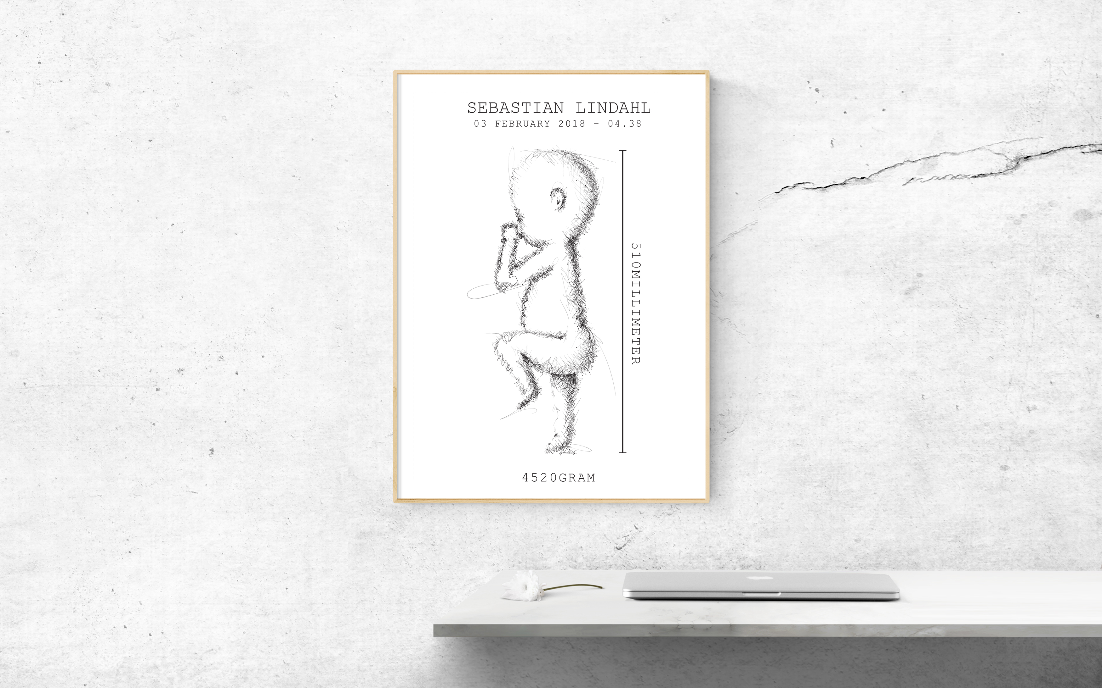 How Would You Like a Personal Newborn Sketch?
