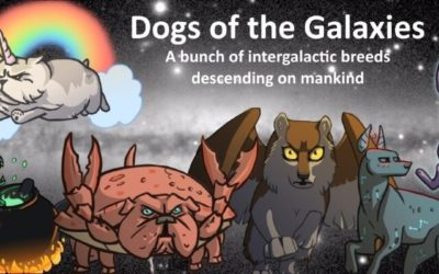 If You Love Dogs And Enjoy Playing Fun Card Games Then You Will Love Dogs Of The Galaxies